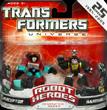 Transformers Universe Robot Heroes Perceptor vs. Hardshell (G1)