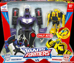 Transformers Animated Shockwave (with Activators Bumblebee, Target exclusive)