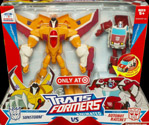 Transformers Animated Sunstorm (with Activators Ratchet, Target exclusive)