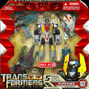 Transformers 2 Revenge of the Fallen Superion (Silverbolt, Air Raid, Fireflight, Skydive, Airrazor - Target ex.)