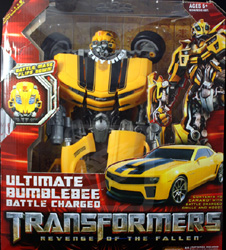 Transformers Revenge of the Fallen (Movie 2) Ultimate Bumblebee Battle Charged