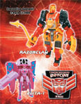 Transformers Timelines (BotCon) Wings of Honor: Razorclaw