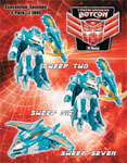Transformers Timelines (BotCon) Wings of Honor: Sweep