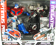 Takara - Animated Optimus Prime vs Megatron (Voyager 2-Pack)