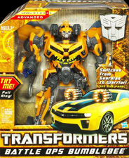 Hunt for the Decepticons Battle Ops Bumblebee