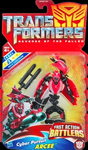 Transformers Revenge of the Fallen (Movie 2) FAB Cyber Pursuit Arcee