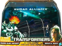 Transformers Hunt for the Decepticons Human Alliance Shadow Blade Sideswipe with Micaela Banes