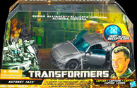 Transformers Hunt for the Decepticons Human Alliance Autobot Jazz with Capt. Lennox