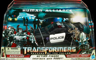 Transformers 2 Revenge of the Fallen Human Alliance Barricade & Decepticon Frenzy