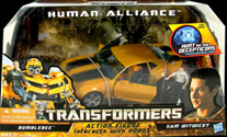 Hunt for the Decepticons Human Alliance Bumblebee w/ Sam (white shirt)