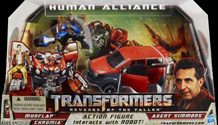 Transformers Revenge of the Fallen (Movie 2) Mudflap & Chromia