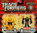 Transformers 2 Revenge of the Fallen Legends Bumblebee vs. Shadow Striker