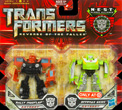 Transformers 2 Revenge of the Fallen Legends Offroad Autobot Skids and Rally Mudflap