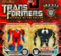 Transformers 2 Revenge of the Fallen Legends Smokescreen and Starscream
