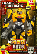 Hunt for the Decepticons Power Bots Stealth Bumblebee