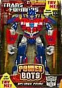 Transformers Hunt for the Decepticons Power Bots Optimus Prime