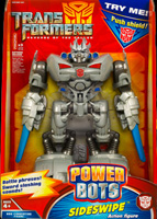 Transformers Hunt for the Decepticons Power Bots Sideswipe