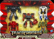 Transformers 2 Revenge of the Fallen Straightaway Shootout Legends 5-pack (Target exclusive - Ironhide, Mudflap, Runamuck, Sparkcrusher, Swerve, The Fallen)