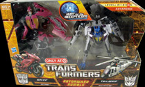 Transformers Hunt for the Decepticons Rotorwash Rumble: Arcee vs Tailwhip (Target Excl 2-pack)