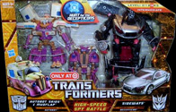 Transformers Hunt for the Decepticons High Speed Spy Battle: Autobot Skids & Mudflap vs. Sideways (Target Excl 2-pack)