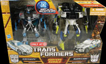 Transformers Hunt for the Decepticons Hunters Rumble: Sideswipe vs Barricade (Target Excl 2-pack)