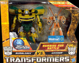 Transformers Hunt for the Decepticons Bombing Run Battle: Bumblebee vs. Grindor (Walmart Excl 2-pack)
