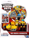Transformers Rescue Bots Axel Frazier & Microcopter