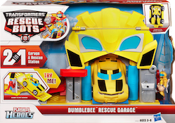 Transformers Rescue Bots Bumblebee's Rescue Garage