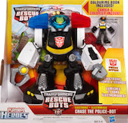 Transformers Rescue Bots Chase the Police-Bot (electronic)