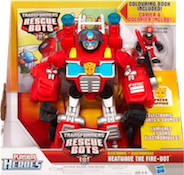 Rescue Bots Heatwave the Fire-Bot (Electronic Class)