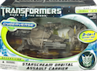 Transformers Cyberverse Starscream w/ Orbital Assault Carrier