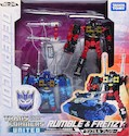 Transformers United (Takara) UN-20 Rumble and Frenzy