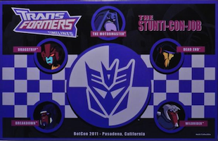 Transformers Timelines (BotCon) Stunti-Con-Job boxset - Drag Strip