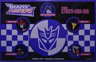 Transformers Timelines (BotCon) Stunti-Con-Job boxset - Breakdown