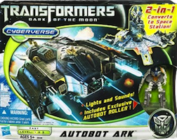 Transformers Cyberverse Autobot Ark with Autobot Roller
