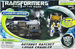 Transformers Cyberverse Autobot Ratchet w/ Lunar Crawler