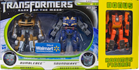 Transformers Cyberverse Bumblebee vs Soundwave w/ bonus Rodimus