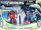 Cyberverse Leadfoot and Ironhide (Target exclusive)