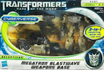 Cyberverse Megatron w/ Blastwave Weapons Base
