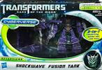 Transformers Cyberverse Shockwave w/ Fusion Tank