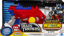 Transformers 3 Dark of the Moon Optimus Prime Cyber Blaster