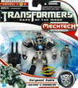 Transformers 3 Dark of the Moon Tailpipe & Pinpointer with Sergean Noble