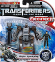 Movie DOTM Autobot Whirl with Major Sparkplug