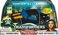 Transformers 3 Dark of the Moon Bumblebee w/ Sam Witwicky (Human Alliance)
