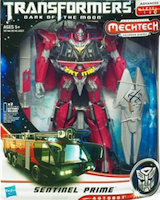 Transformers 3 Dark of the Moon Sentinel Prime
