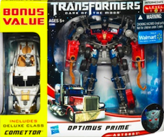 Transformers 3 Dark of the Moon Optimus Prime with Comettor