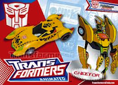 Transformers Timelines (BotCon) Animated Transtech Cheetor
