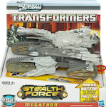 RPMs/Speed Stars Stealth Force Megatron