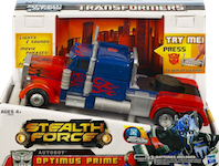 RPMs/Speed Stars Stealth Force Optimus Prime