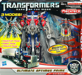 Transformers 3 Dark of the Moon Ultimate Optimus Prime